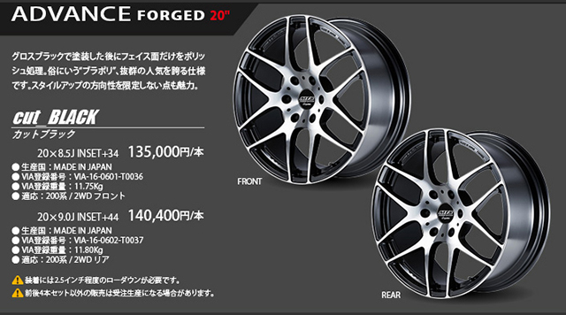 ADVANCE FORGED